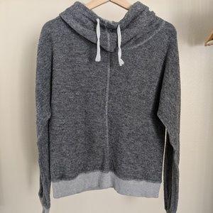 O'Neill Cowl Neck Terry Cloth Hooded Sweatshirt